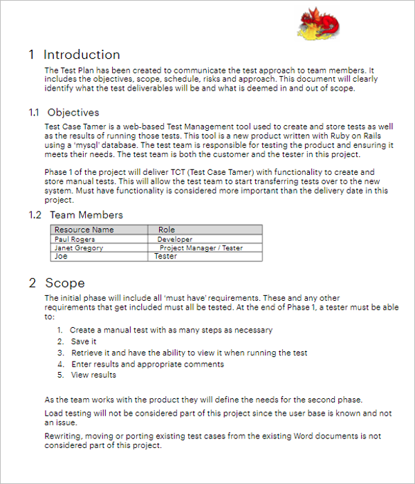 15+ Free Test Case Templates Word, Doc, PDF, Excel Formats