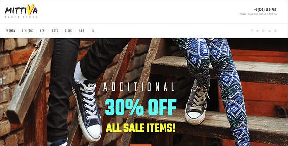 Shoes Store PrestaShop Theme