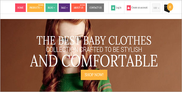 Shopping Cart Retail Bootstrap Template