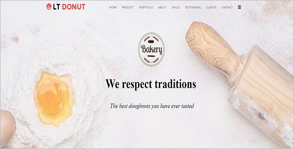 Simple Bakery Joomla Template