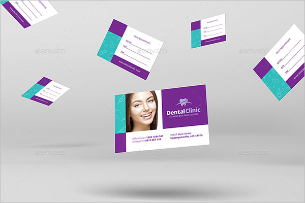 Simple Dental Care Business Card Template