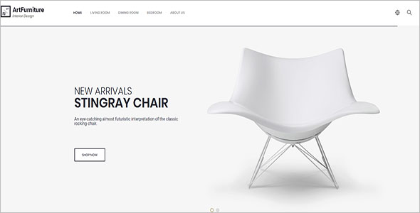 Simple Furniture Blog Theme