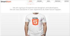 Simple HTML5 & CSS3 WordPress Theme