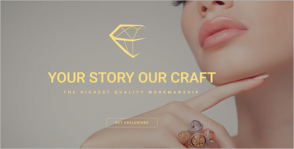 Simple Jewelry Bootstrap Theme