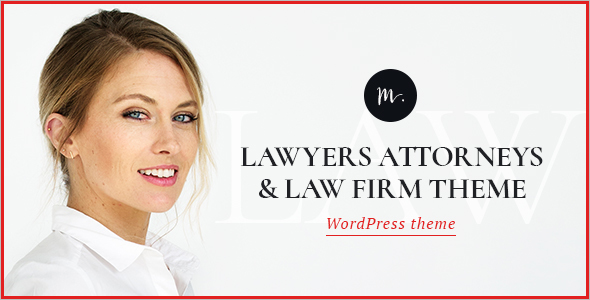 Simple Lawyer Website Template