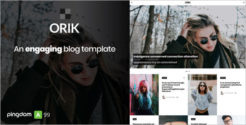 Simple Video Blogger Template