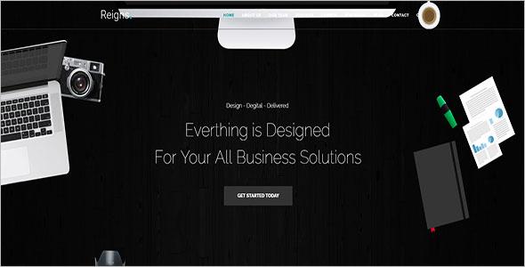 Single Page Corporate Drupal Theme