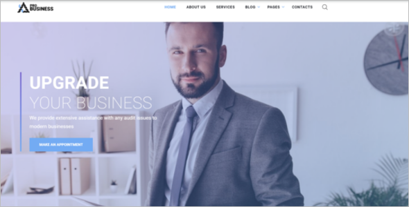 Single Page Scrolling Website Template