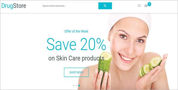 Skin Care Magento Theme