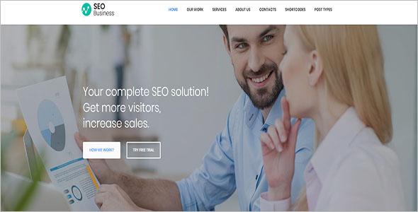 Social Media & Marketing WordPress Theme
