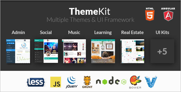 Social Network HTML5 Bootstrap Template