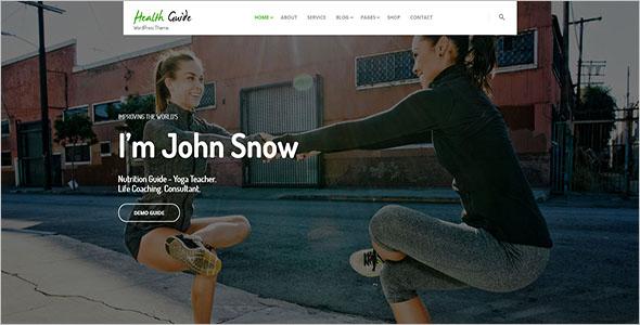 Sports Coaching WordPress Theme