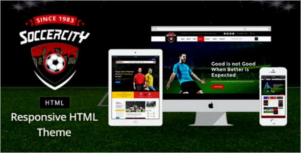 Sports Event Management Website Theme