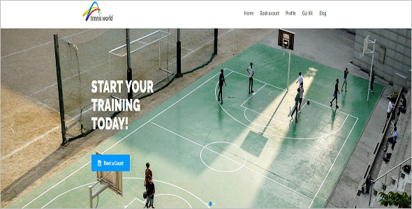 Sports Trainee WordPress Theme