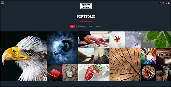 Static Blog HTML Template