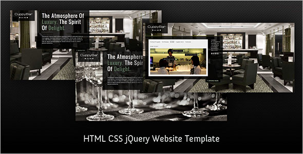 Static HTML5 Website Template