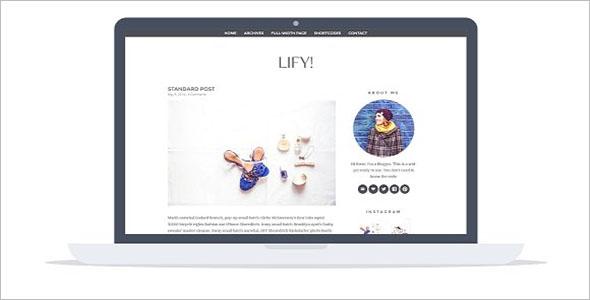 Stunning Lifestyle Blog Theme