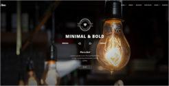 Stunning Minimalist Drupal Theme