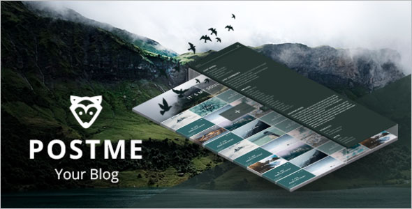 Stunning Video Blogger Template