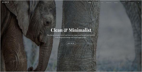 Stylish Business WordPress Theme