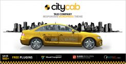 Taxi Company WordPress Theme