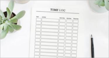 time log templates