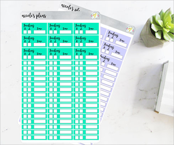 Time Log Tracking Template