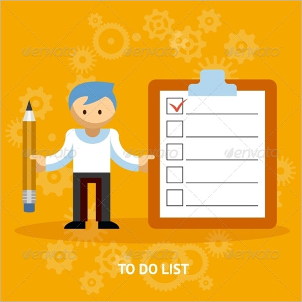To Do List Checklist Template
