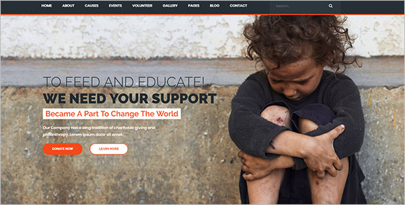 Top Non-Profit Bootstrap Template