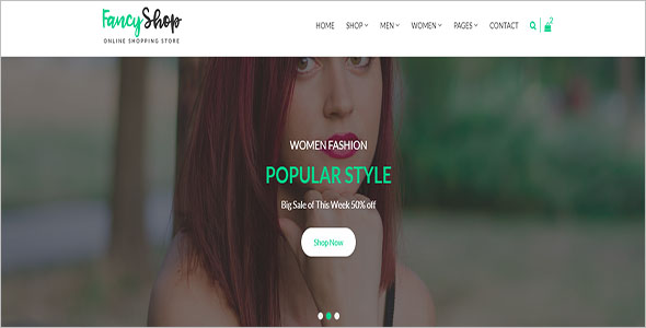 Top Retail Bootstrap Template