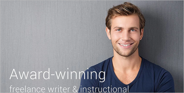 Top Writer Website Template