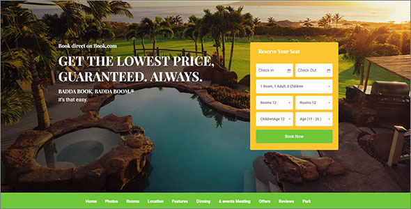 Tourism HTML Template