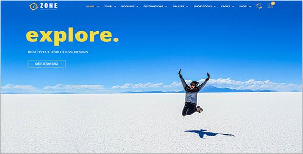 Tourism WordPress Theme