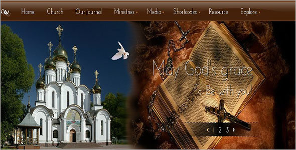 Traditional Event Joomla Template