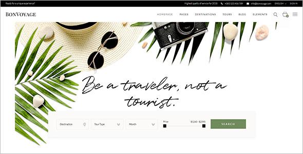 Travel Agency & Tour Booking WordPress Theme