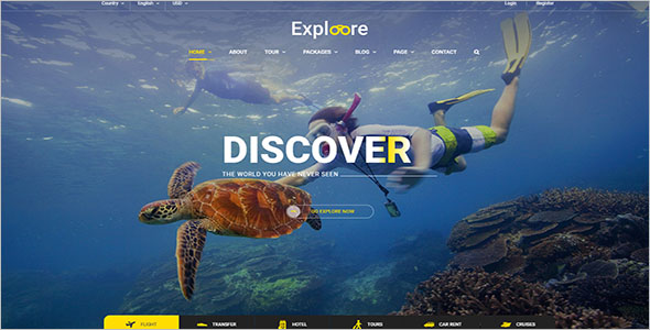 Travel Agency WP Theme