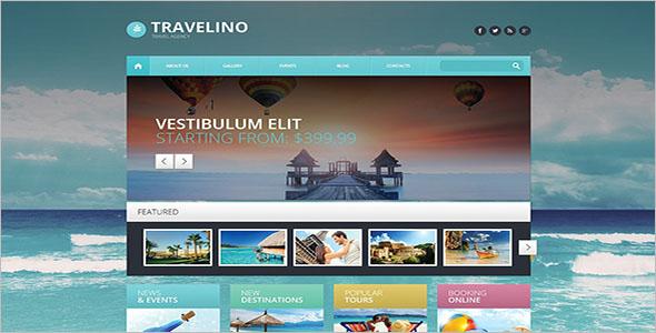 Travel Agency WordPress Website Theme