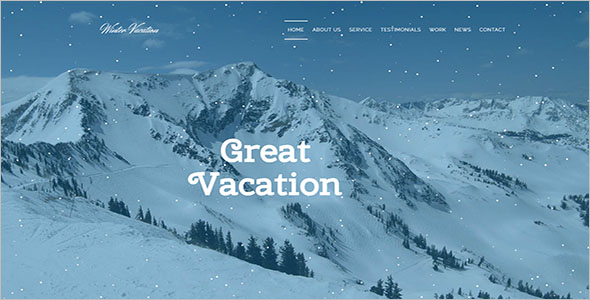 Travel Booking Portal HTML Template