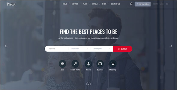 Travel Business HTML Template