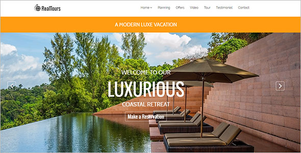 Travel HTML5 Template