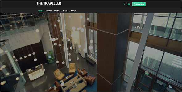 Travel Hotel HTML Template