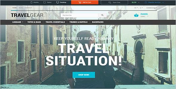 Travel Tour WordPress Theme