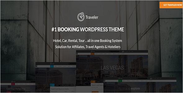 Travel WordPress Website Theme