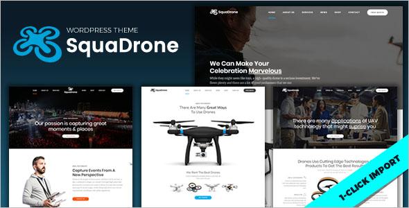 UAV Business WordPress Theme