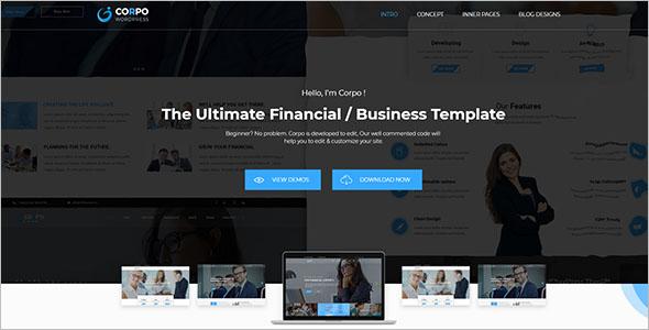 Ultimate Business Theme In WordPress