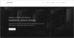 Unique Business WordPress Theme