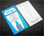 Vertical Dental Care Business Card Template