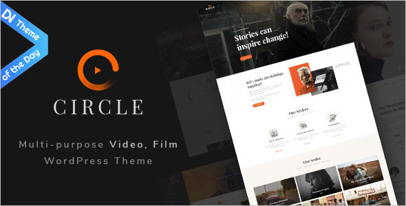 Video WordPress Theme For Blogger