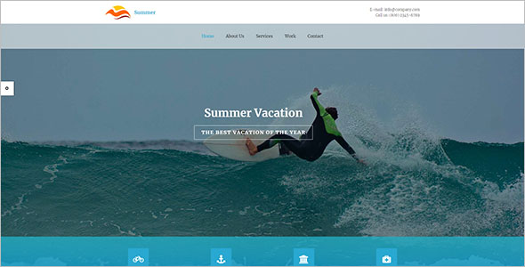 Vocational HTML Template