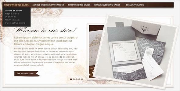 Wedding Card VirtueMart Theme